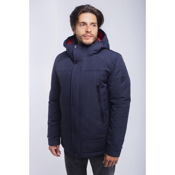 Зимная  куртка / пуховик  мужская UG 51 модель серо-синий розмір 46 48  50 52 54 56 58 60 62 64 66 68