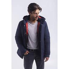 Зимная  куртка / пуховик  мужская UG 51 модель серо-синий розмір 46 48  50 52 54 56 58 60 62 64 66 68, фото 2