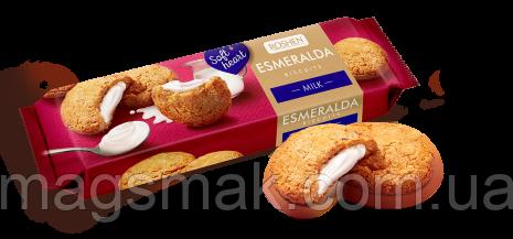 Сахарное печенье Печенье Эсмеральда Soft Heart Milk, 170 г