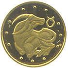 Монета Украины 2 грн. 2006 г. Телец