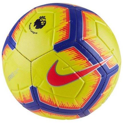 Мяч Футбольный Nike Strike Premier League №5 SC3311-710 Желтый (191887241775), фото 2