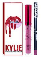 Комплект для губ Kylie Matte Liquid Lipstick & Lip Liner (помада+карандаш)
