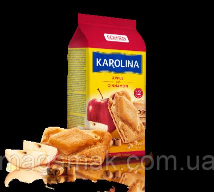 Печенье с яблоком и корицей Karolina, 225г, фото 2