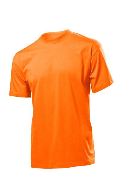 Спецодежда футболка рабочая круглый вырез (100% хлопок, оранжевый)