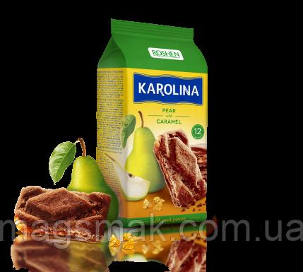 Печенье с грушей и карамелью Karolina, 225г