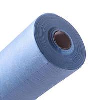 Простынь одноразовая 0,6х100м ТМ Panni Mlada (голубой)