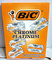 "Набор лезвий для станка ""Chrome Platinum"", 100шт"