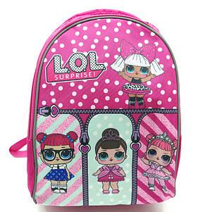 Рюкзак школьный Miqini 36.5x25x14 см 11.5л Розовый (r6830/1), фото 2