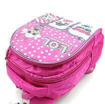 Рюкзак школьный Miqini 36.5x25x14 см 11.5л Розовый (r6830/1), фото 3