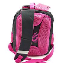 Рюкзак школьный Miqini 36.5x25x14 см 11.5л Черный (r9132/2), фото 3