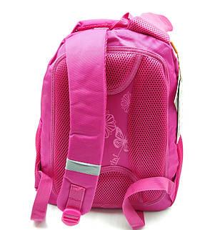 Рюкзак школьный Miqini 36.5x25x14 см 11.5л Розовый (r6832/1), фото 2