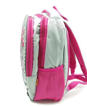 Рюкзак школьный Miqini 36.5x25x14 см 11.5л Серый (r6828/1), фото 2