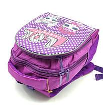 Рюкзак школьный Miqini 36.5x25x14 см 11.5л Фиолетовый (r6828/2), фото 2