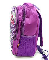 Рюкзак школьный Miqini 36.5x25x14 см 11.5л Фиолетовый (r6828/2), фото 3