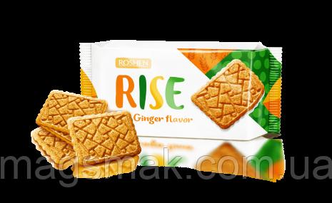 Печенье Roshen Rise рисовое с кокосом, 118г, фото 2