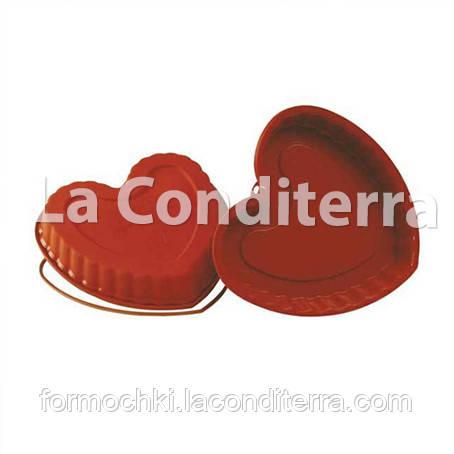 Силиконовая форма для выпечки HEART SFT210 (объем=1250 мл)