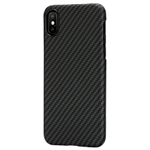 Pitaka Aramid MagCase кевларовый чехол для iPhone X/XS Black/Gray