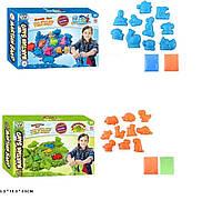 """Гра """"Живий пісок"""" WLN-75/76 (48шт/2) 2 види, блискучий, в наборі пасочки, в коробці 26*18*4,5 см Синій"""