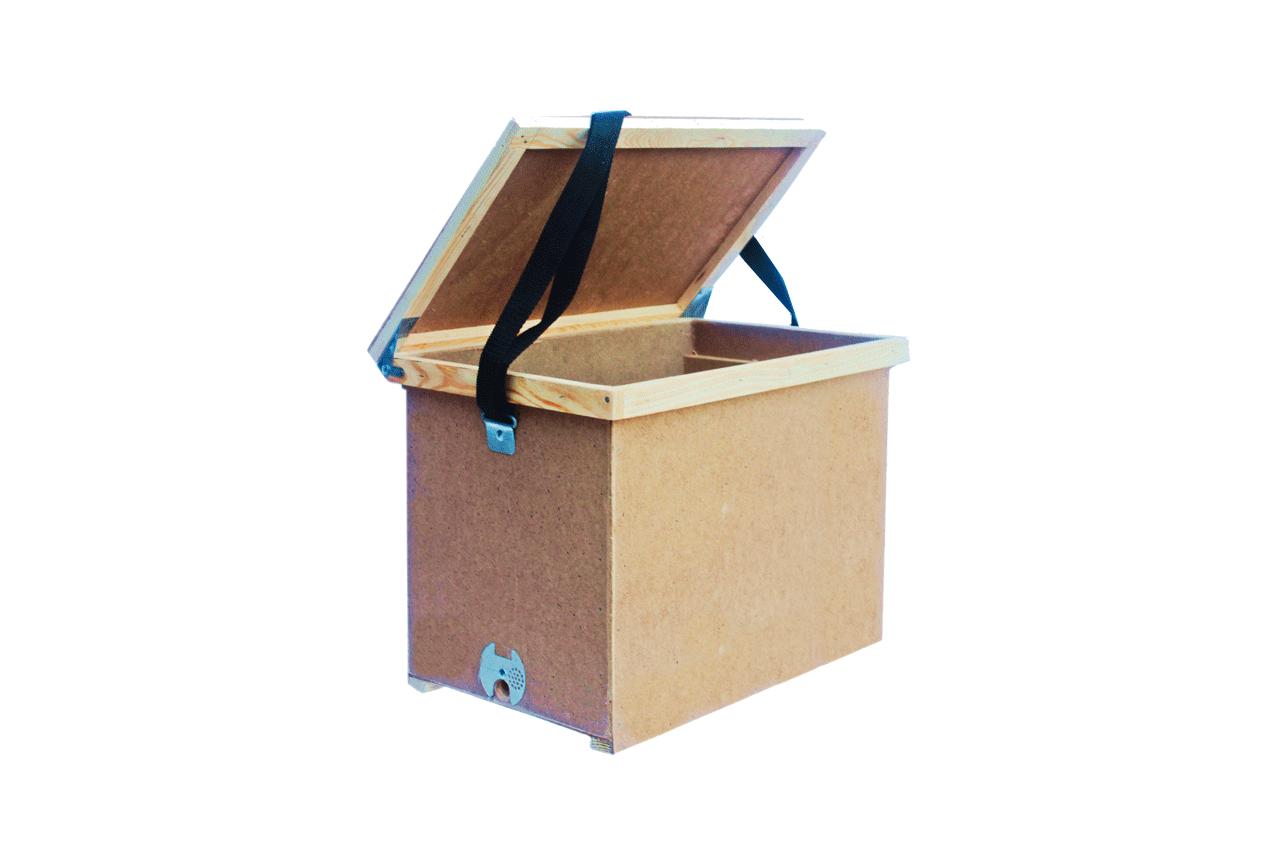 Ящик для перенесення рамок 8-ми рамковий