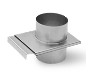 Шибер d 100 (оцинкованная сталь)