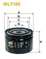 Фильтр масляный на ВАЗ 2108-2115, 2110-2112, Приора, Калина,Гранта  (WIX)