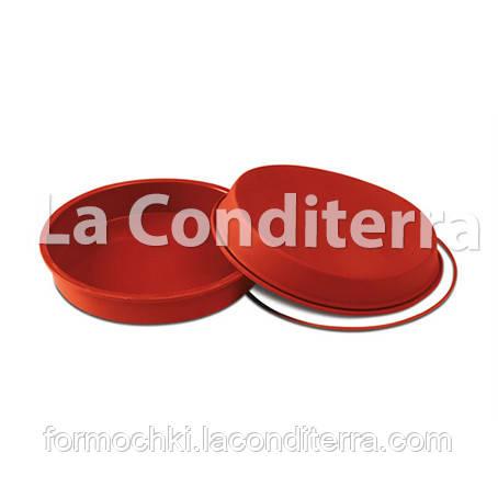 Силиконовая форма для выпечки ROUND PAN SFT126 (объем=2200 мл)