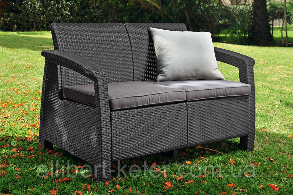 Комплект садовой мебели Corfu Love Seat