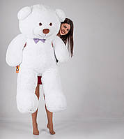 Большой плюшевый медведь Yarokuz Джеральд 165 см Белый