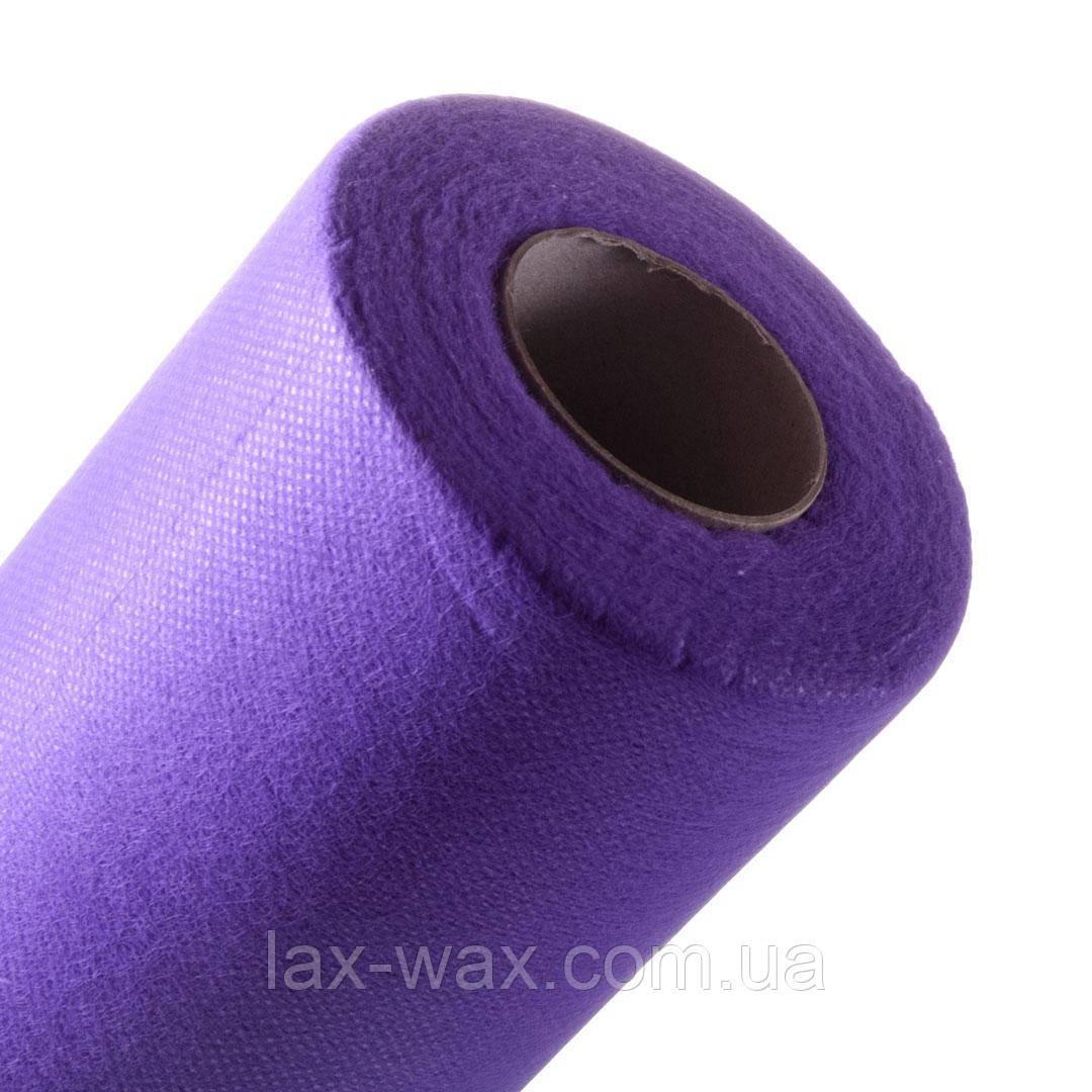 Простынь одноразовая 0,8х100м ТМ Panni Mlada (фиолетовый)