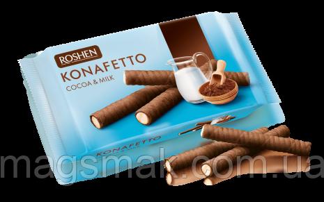 Вафельные трубочки Konafetto какао и молоко 156г, фото 2