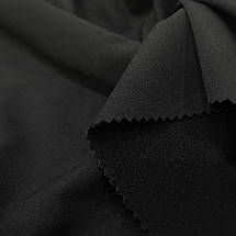Ткань тиар с начесом черный, фото 2