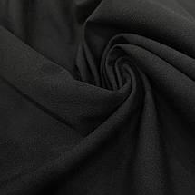 Ткань тиар с начесом черный, фото 3