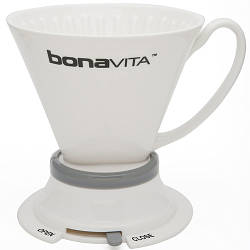 Пуровер Bonavita Wide Base Porcelain Immersion Dripper (BV4000IDV2)