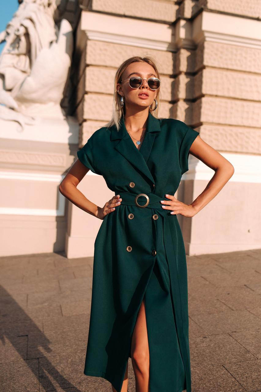 Платье LiLove 700-1 42-44 зеленый