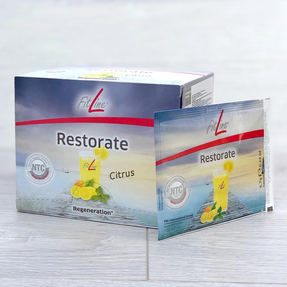 FitLine Restorate Ресторейт Citrus витаминное питание в пакетиках 30 шт, Германия - PM International