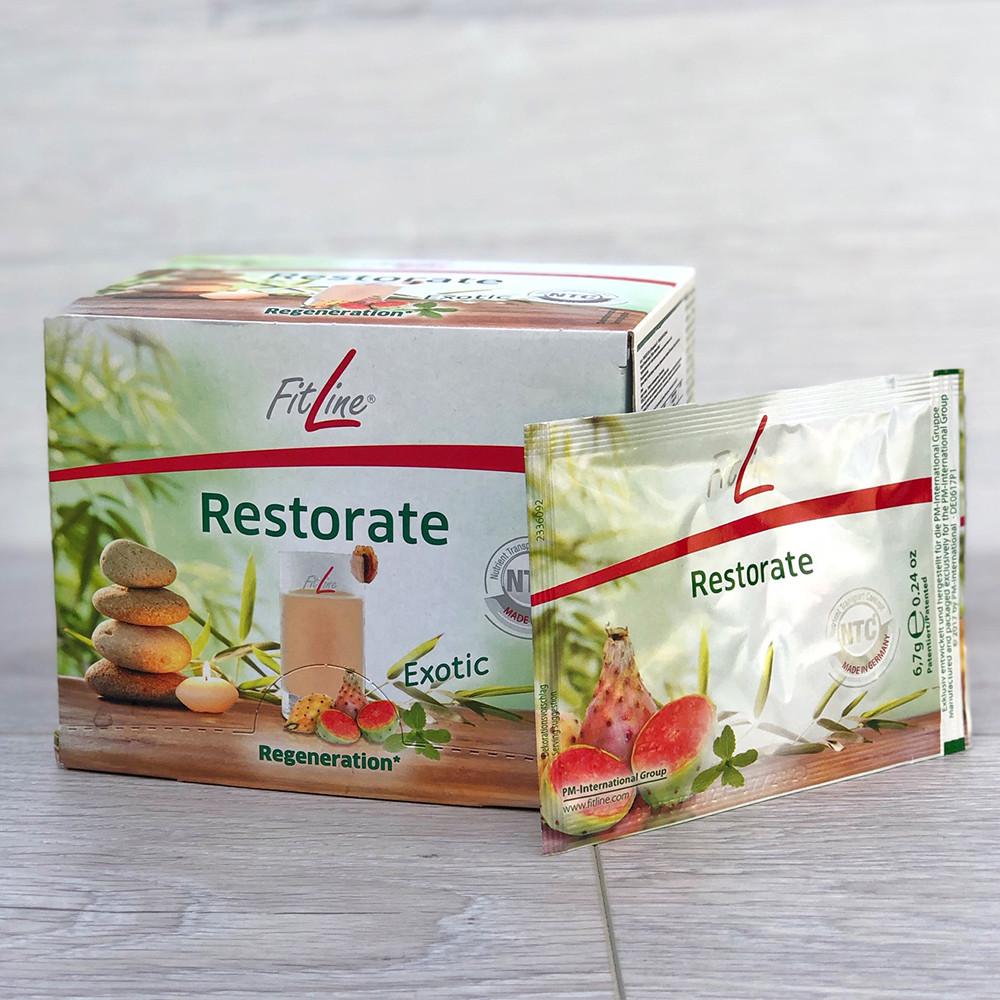 FitLine Restorate Ресторейт Exotic витаминное питание в пакетиках 30 шт, Германия - PM International