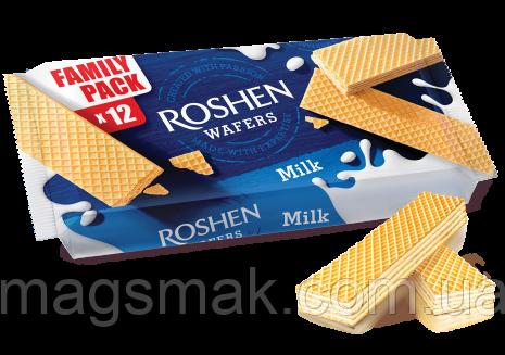 Вафли Roshen Wafers молоко, 216г, фото 2