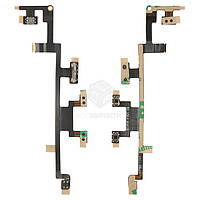Шлейф для Apple iPad 3 (A1403, A1416, A1430), iPad 4 (A1458, A1459, A1460) Original Кнопки регулировки громкости, кнопка включения