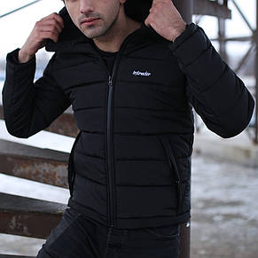 Мужская зимняя куртка - Intruder Impression черный, фото 2