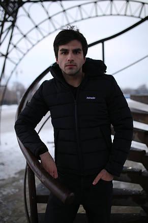 Мужская зимняя куртка - Intruder Impression черный, фото 3