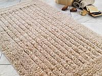 Коврик для ванной Confetti Cotton Stripe бежевый 60х100 см