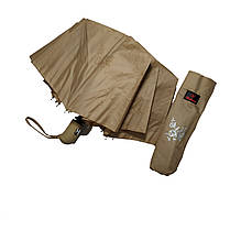 Женский зонтик Bellisimo полуавтомат на 10 спиц Бежевый (461-1), фото 2