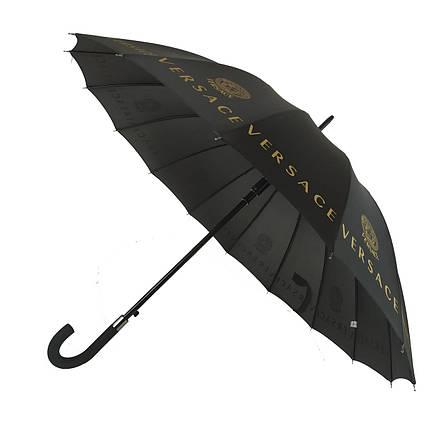 Зонтик-трость полуавтомат Max NEW LOOK Черный (1001-6), фото 2