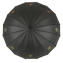 Зонтик-трость полуавтомат Max NEW LOOK Черный (1001-6), фото 3
