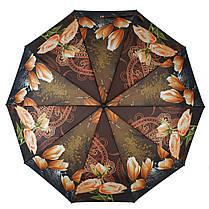 Зонт полуавтомат Susino цветочный принт Разноцветный (43006-3), фото 3