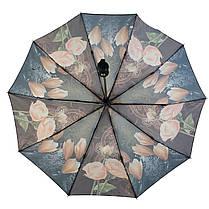 Зонт полуавтомат Susino цветочный принт Разноцветный (43006-3), фото 2