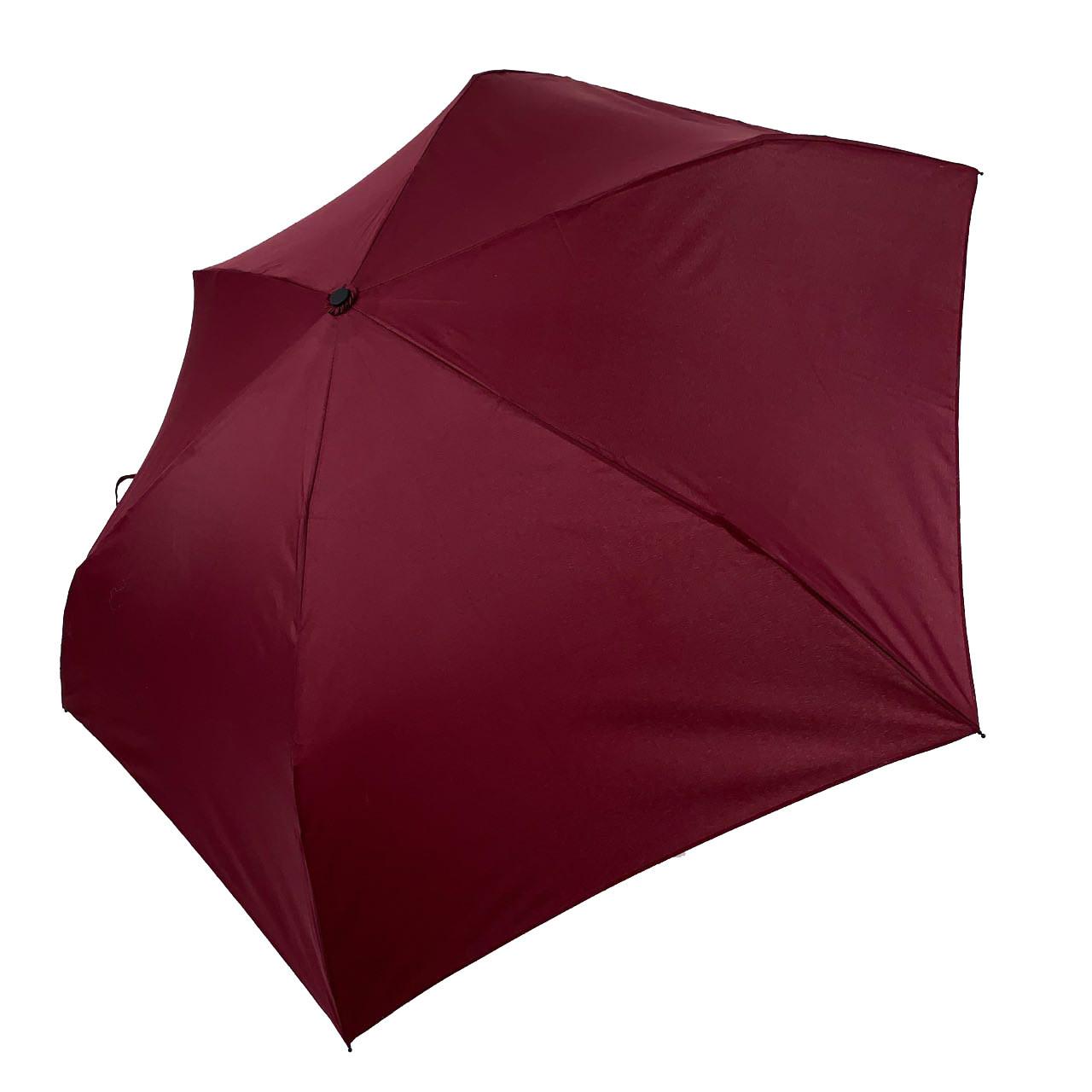 Детский механический зонт-карандаш SL Бордовый (SL488-2)