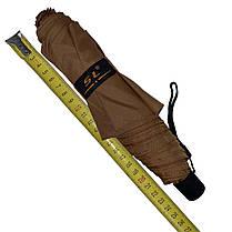 Детский механический зонт-карандаш SL Коричневий (SL488-1), фото 3