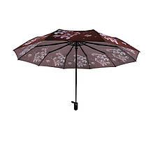 Автоматический зонтик Flagman Lava Коричнево-шоколадный (734-2), фото 3