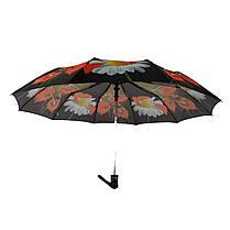 Зонт полуавтомат Susino цветочный принт Разноцветный (43006-2), фото 3